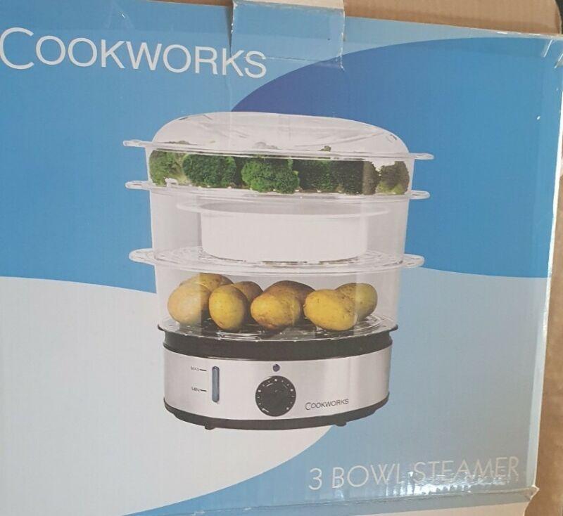 Cookworks+3+bowl+steamer