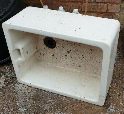 2 Vintage Sink Planters, Royal Doulton & Twyfords