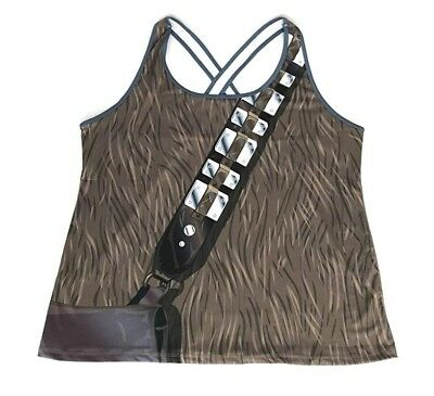 NWT RunDisney I Am Star Wars Chewbacca Running Fitness Tank Top Women 3XL