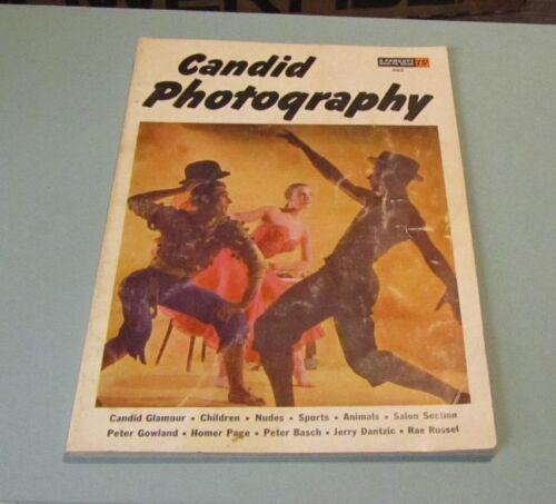 1955 Fawcett Candid Photography Handbook 263 Nudes Boxing Animals Glamour Girls