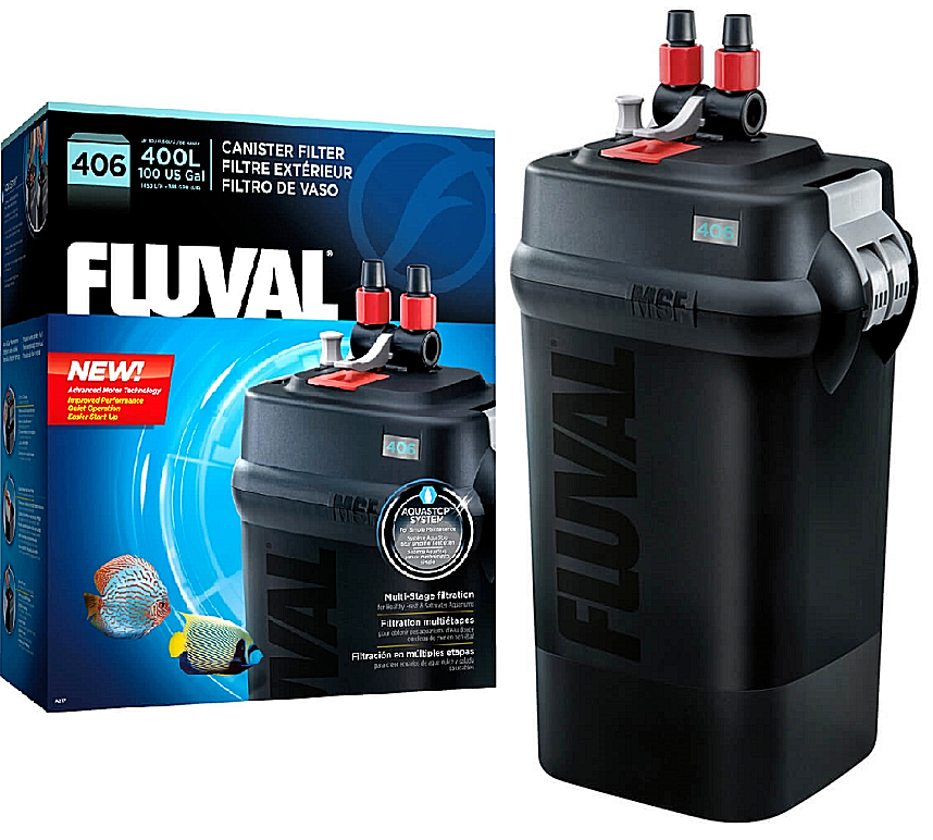 FLUVAL - 406 CANISTER FILTER UP TO