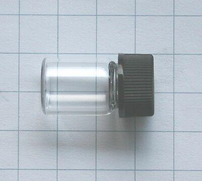 Empty spare glass vial to store gallium bromium cesium thorium or uranium