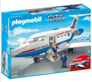Playmobil 5395 City Action chartervliegtuig