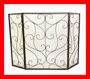 FRENCH PROVISIONAL FIRE SCREEN FIREPLACE GUARD