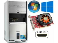 PC , C2D 2.4GHz, HDMI, GT240, 3GB Ram, 250GB HD, Minecraft