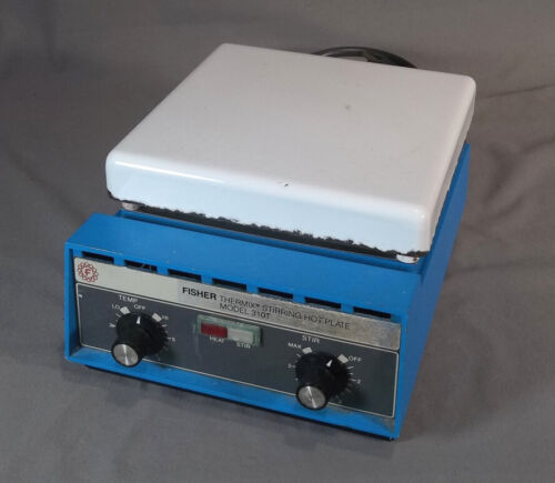 Fisher Thermix Stirring Hot Plate Mixer Model 310T 7.5 x 7.5 inch Top Plate  EX