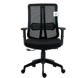Black Mesh Medium Back Executive Office Chair Swivel Desk Chair