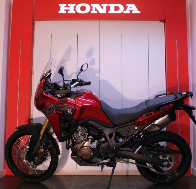 Honda CRF1000L Africa Twin Adventure Sport FREE HONDA LUGGAGE