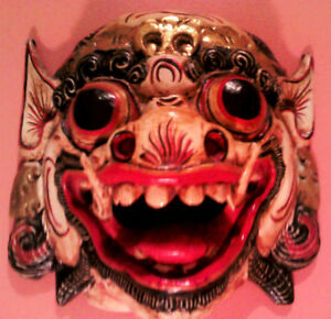 Rare wood carved Mask