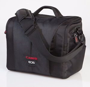 Canon 700SR DSLR Bag (Black with red)