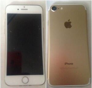 Gold iphone7 32gb Rogers..Trade  Warranty i