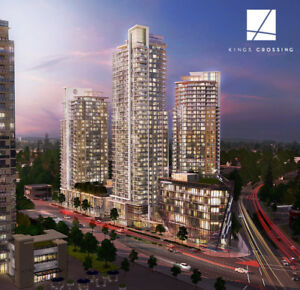 High Floor 1 Bed + Den Condo Assignment at Kings Crossing 3