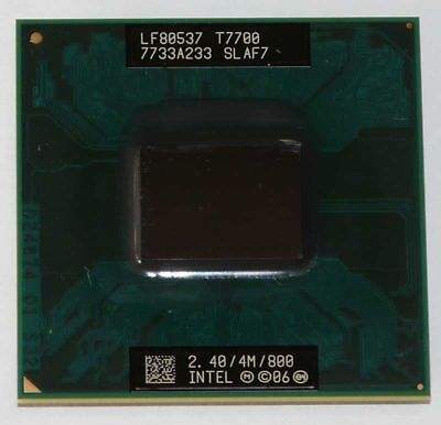 Intel Core2Duo Mobile T7700 2.4/4M/800 FSB800 Sockel P CPU Prozessor Intel Core 2 Duo Mobile