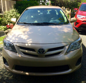 Toyota Corolla - excellent condition & low mileage!