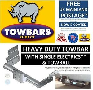 Towbar-for-Ford-Transit-Van-Minibus-2000-to-2014-Heavy-Duty-Flange-Tow-Bar-Kit