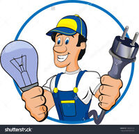Certified Electrician - Bonded and licensed.