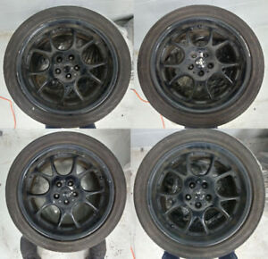 """17"""" Rota Rims With 225 Continental Tires"""