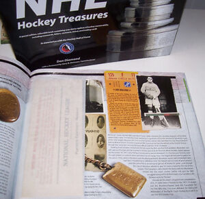 The Official NHL Hockey Treasures Hardcover Book London Ontario image 4
