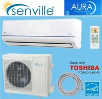 12000 BTU Mini Split A/C- heat pump inverter SEER 22