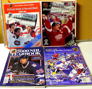 Reduced..NHL  Hockey Books #6