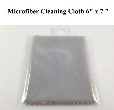 Microfiber Screen Cleaning Cloth for iPad4 3 2 iPhone Samsung Galaxy Tablets