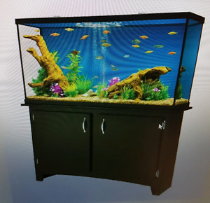55 Gallon fresh water tank and stand