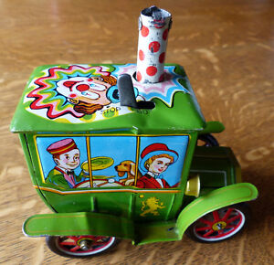 Litho circus wind-up toy