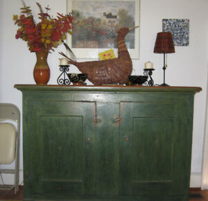 Striking Antique Quebec Side Cupboard for Sale