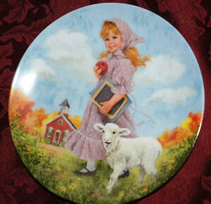 gift idea - Mary had a Little Lamb RECO Collector PLATE P68
