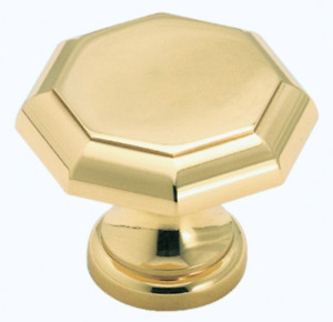 Solid Brass Cabinet Knobs (x13)