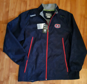 NEW WITH TAGS MONTRÉAL CANADIENS XXL REEBOK KINETIC FIT JACKET
