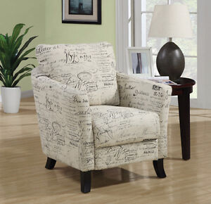 Brand NEW Vintage French or Sandstone Grey Accent Chairs! Call 5