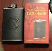 Captain Morgan Rum Branded Stainless Steel Flask Limited Edition
