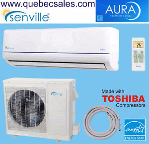 27000 BTU Dual Zone air conditioner with Heat Pump & INVERTER