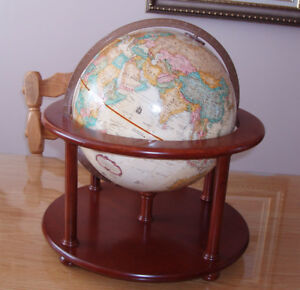GLOBE TERRESTRE REPLOGUE, WORLD CLASSIC 1997, BOMBAY Cie