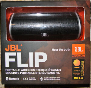 JBL Flip Bluetooth Wireless Speaker - JBLFLIPBLKAM
