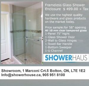 Bathroom Partitions Hamilton Ontario shower glass doors | kijiji in hamilton. - buy, sell & save with