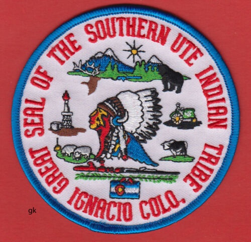 SOUTHERN UTE COLORADO GREAT SEAL INDIAN TRIBAL PATCH
