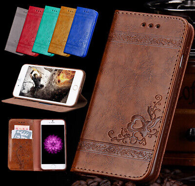 Luxury Magnetic Leather Wallet Flip Cover Case for iPhone Apple 6 7 8 Plus XS 11