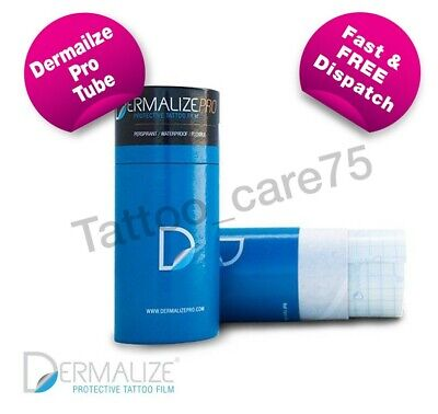 Dermalize Pro Tattoo Aftercare Cover Up Film, Saniderm 10 Metre Roll