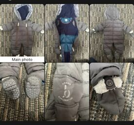 Ted Baker Snow Suit 6-9 Month