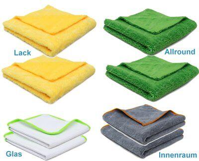 Profi-Set Microfasertücher, Lackpflege, Glaspflege, Innenraumpflege 8tlg.