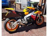 2011 Honda CBR1000 Repsol Fireblade, Leovinci Silencer,