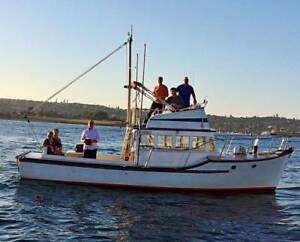The Perfect Harbour Cruising/Fishing/Family Friendly Trawler