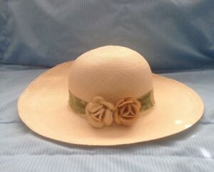 Women's Genuine Montecristi Hat, Made in Ecuador