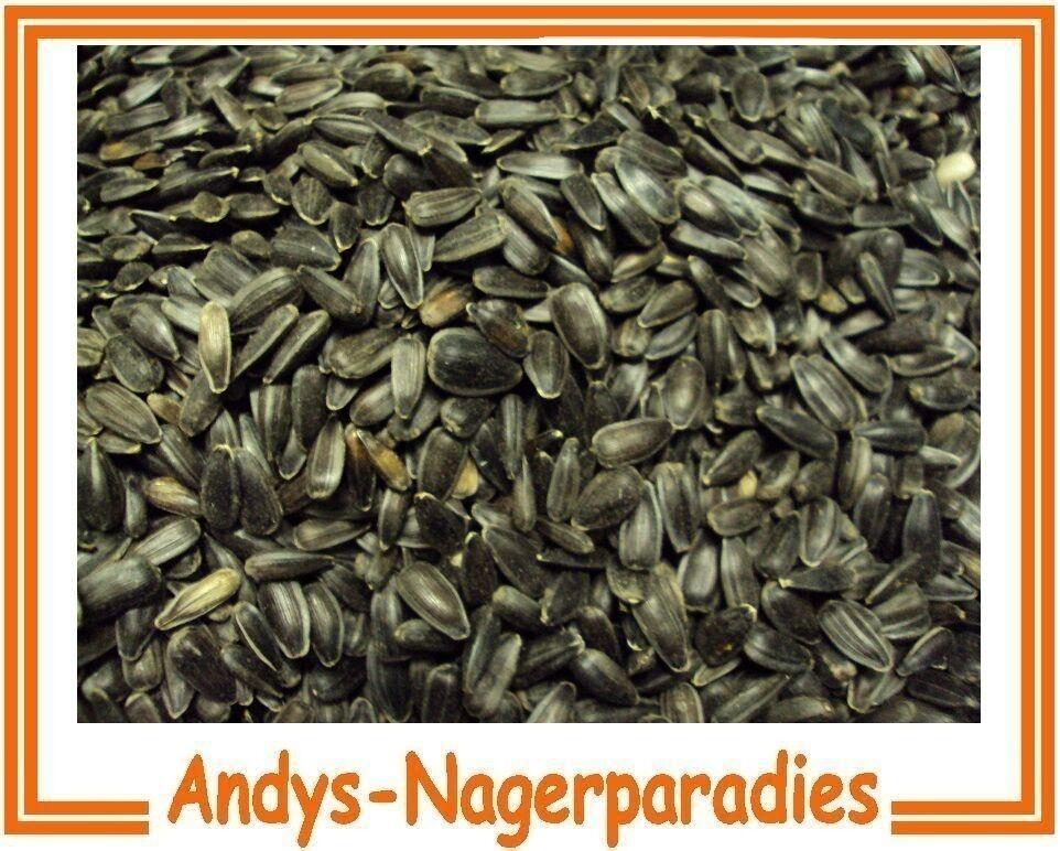 25kg Sonnenblumenkerne schwarz Winterstreufutter Wildvogelfutter Vogelfutter