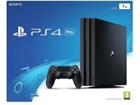 Ps4 PRO for sale, used once.