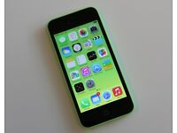 APPLE IPHONE 5C 8GB GREEN,UNLOCKED TO 02 TESCO GIFF GAFF,GOOD CONDITION