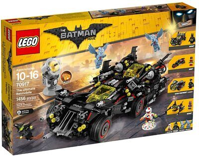 "Lego ""The Batman Movie"" 70917 The Ultimate Batmobile, 4 vehicles into 1 - NEW"
