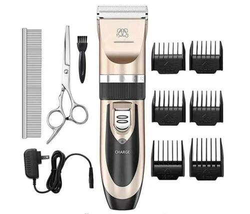 Dog Shaver Clippers Low Noise Rechargeable Cordless Electric Quiet Hair Clippers